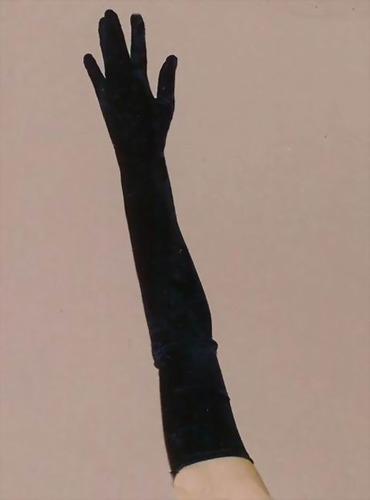 BLACK LONG GLOVE