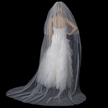 Double Layer Cathedral Length Veil by WEDDING FACTORY DIRECT