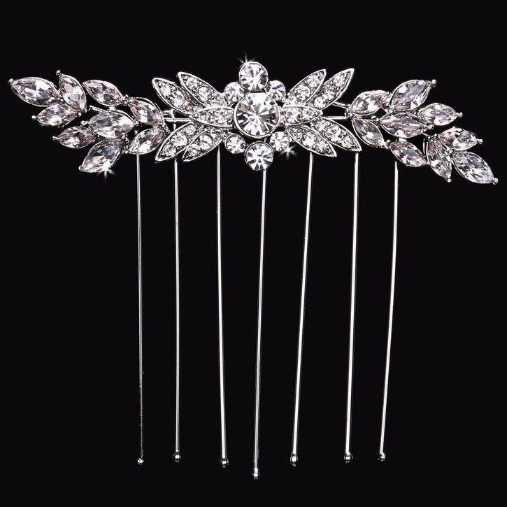 Bridal Veil Comb by ENVOGUE ACCESSORY'S