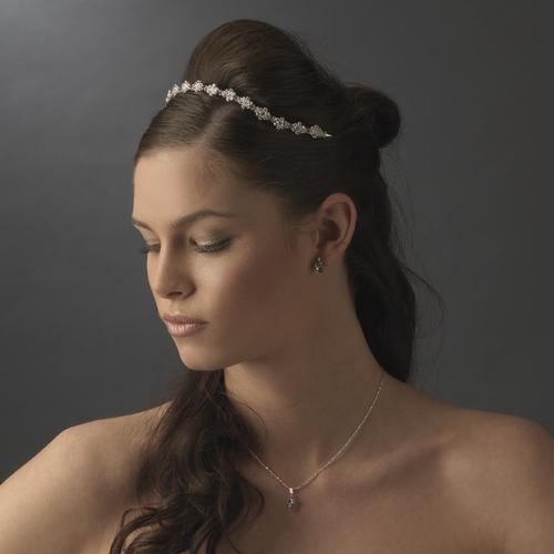 Floral Bridal Tiara