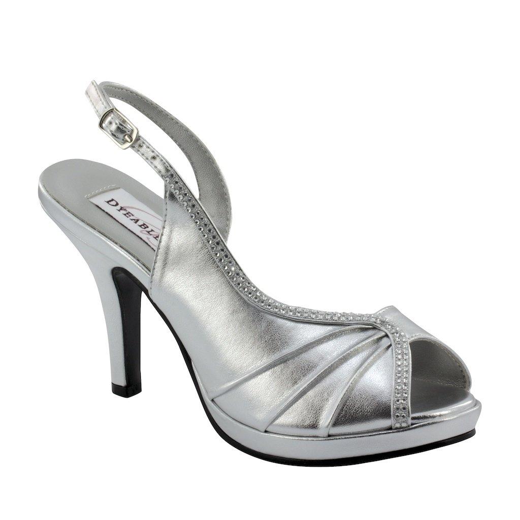 Flora Silver Metallic