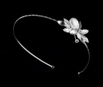 Silver Plated Swarovski Headband
