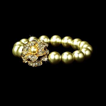 GOLD IVORY BRACELET