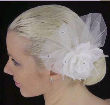 SILK & ORGANZA FLOWER