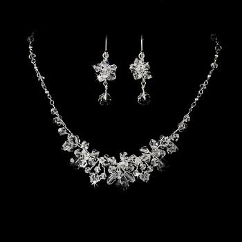 Swarovski Necklace Earring Set