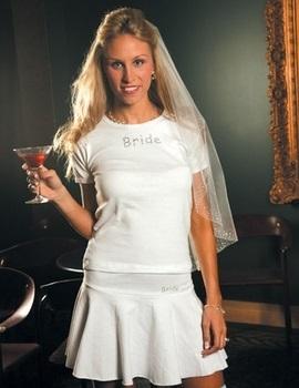 Women's Flirty Wedding Party Skirt