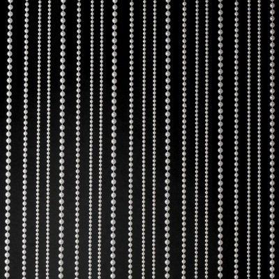 White 2 Pearl Ball Chain Curtain