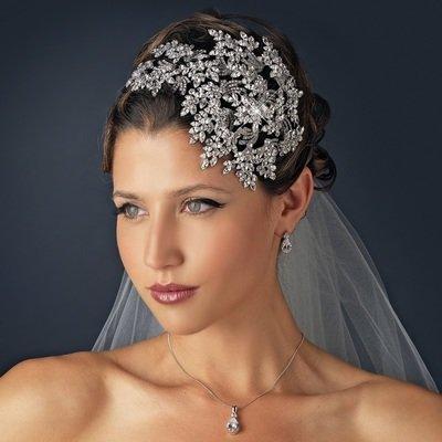 Crystal Bridal Face framer Headband