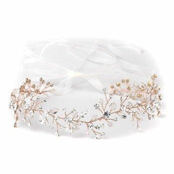 Rose Accent Headband