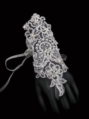Victorian Lace gloves  BY ENVOGUE ACCESSORY'S