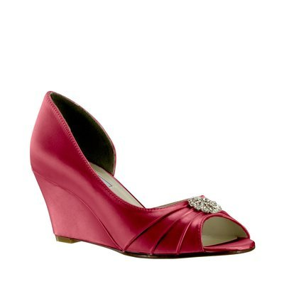 Lee  Satin - Dyeable Red