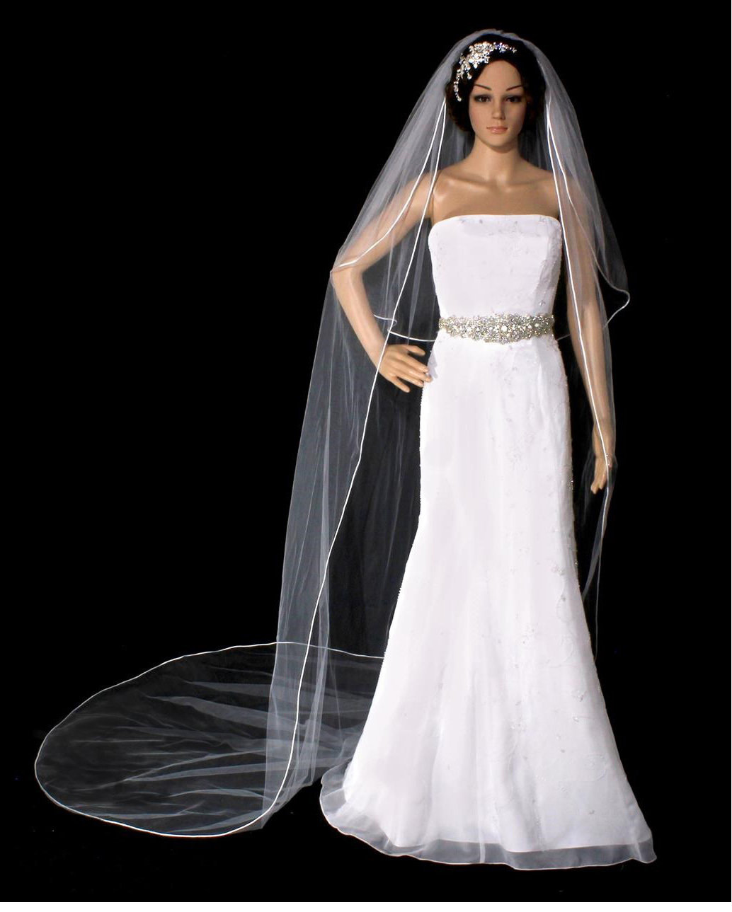 Two piece Cathedral Veil by 1ST CLASS BRIDAL