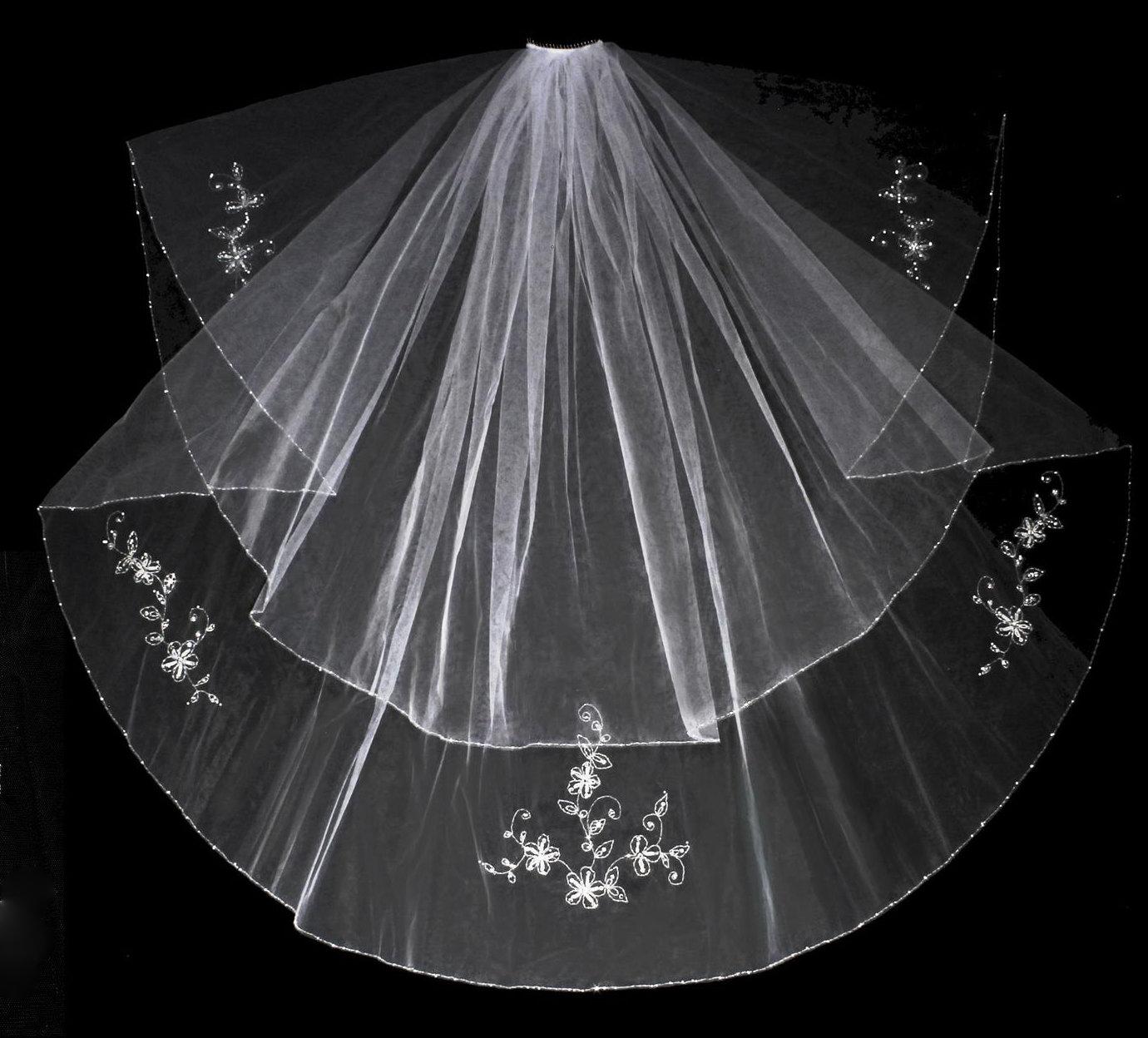 Blusher & Veil together