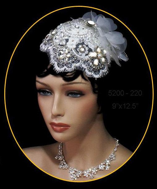 Vintage Bridal Hat by 1ST CLASS BRIDAL