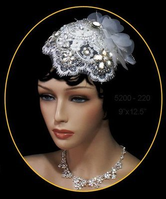 Vintage Bridal Hat by 1ST CLASS BRIDAL