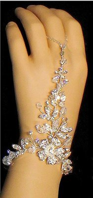 Crystal Hand Jewelry  BY 1ST CLASS BRIDAL