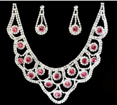 Soft Pink Jewelry Set