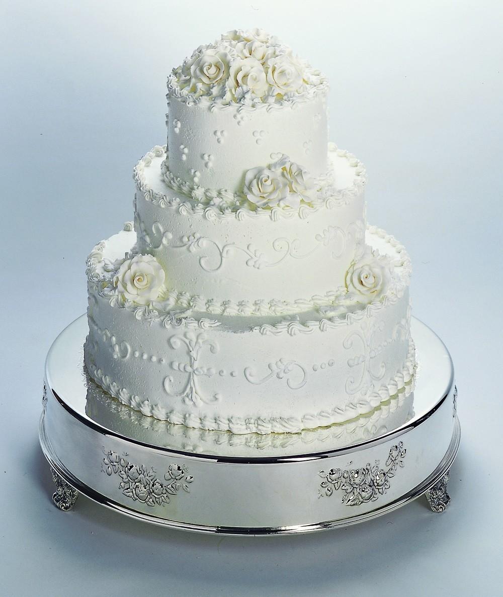 "14 "" Round Wedding Cake Tableau Stand"