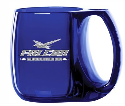 Falcon and Hard Merchandise Logo Coffee Mug