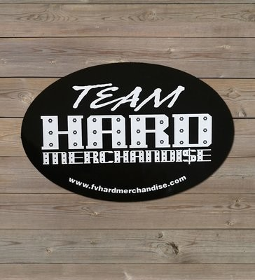 Bumper Sticker - Team Hard Merchandise