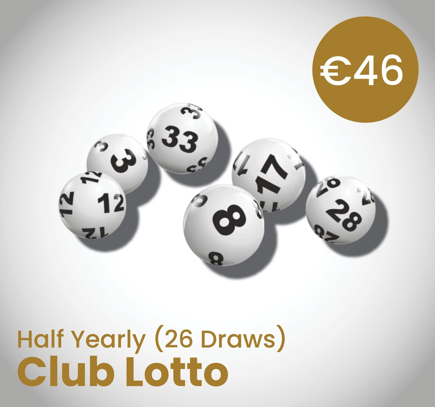 Club Lotto Half Yearly (26 Draws)