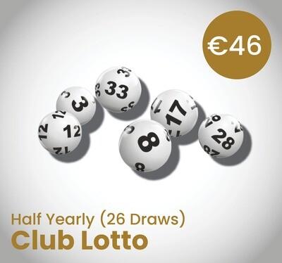 Club Lotto Half Yearly (26 Draws)