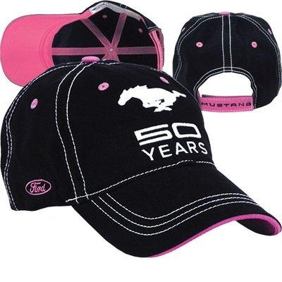 Mustang 50 Years Pink/Black Cap