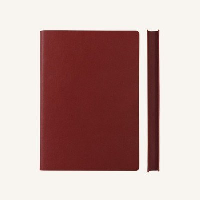 Signature vonalas jegyzetfüzet - A5 , piros