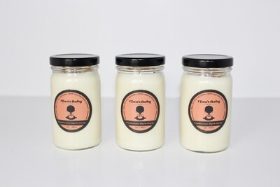 Frankincense/Myrrh/Orange 8oz Soy Candle