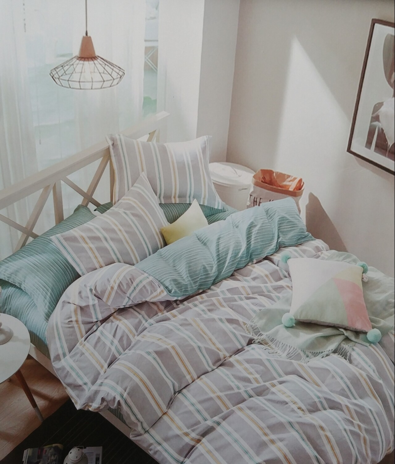 Hunter Lewis Teal Bedding Set