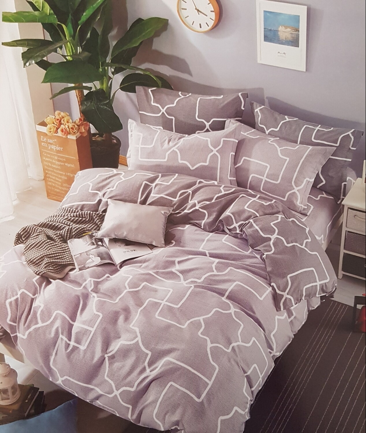 Lewis Home Avenue Bedding Set
