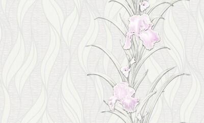 Лаура, Лаура 2. Виниловые профильные вспененные на флизелиновой основе. Размер: 1,06 х 10м