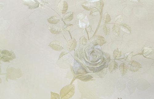 Скарлет. Артикул: Е1490Х. Обои с цветами для стен  на флизелиновой  основе, горячее тиснение.