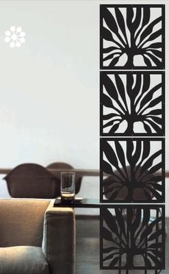 Арт. DECO 172. Декоративные стеновые панели.  Размеры: 40х40  см. Количество: 4 элементов. Материал: ПВХ.