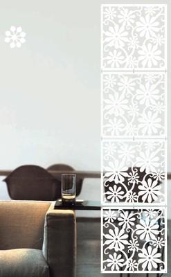Арт. DECO 106. Декоративные панели для дверей.  Размеры: 40х40  см. Количество: 4 элементов. Материал: ПВХ.