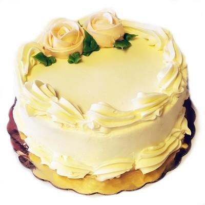 Honey Vanilla Cake