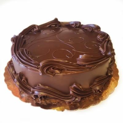 Chocolate on Vanilla