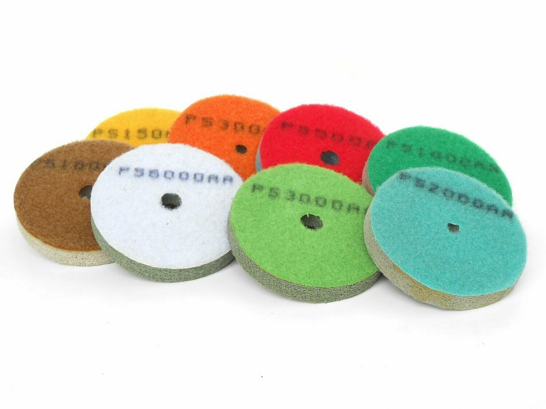 Diamond sponge pad discs 3inch