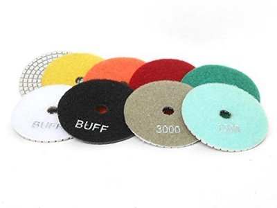 Diamond polishing disc 3