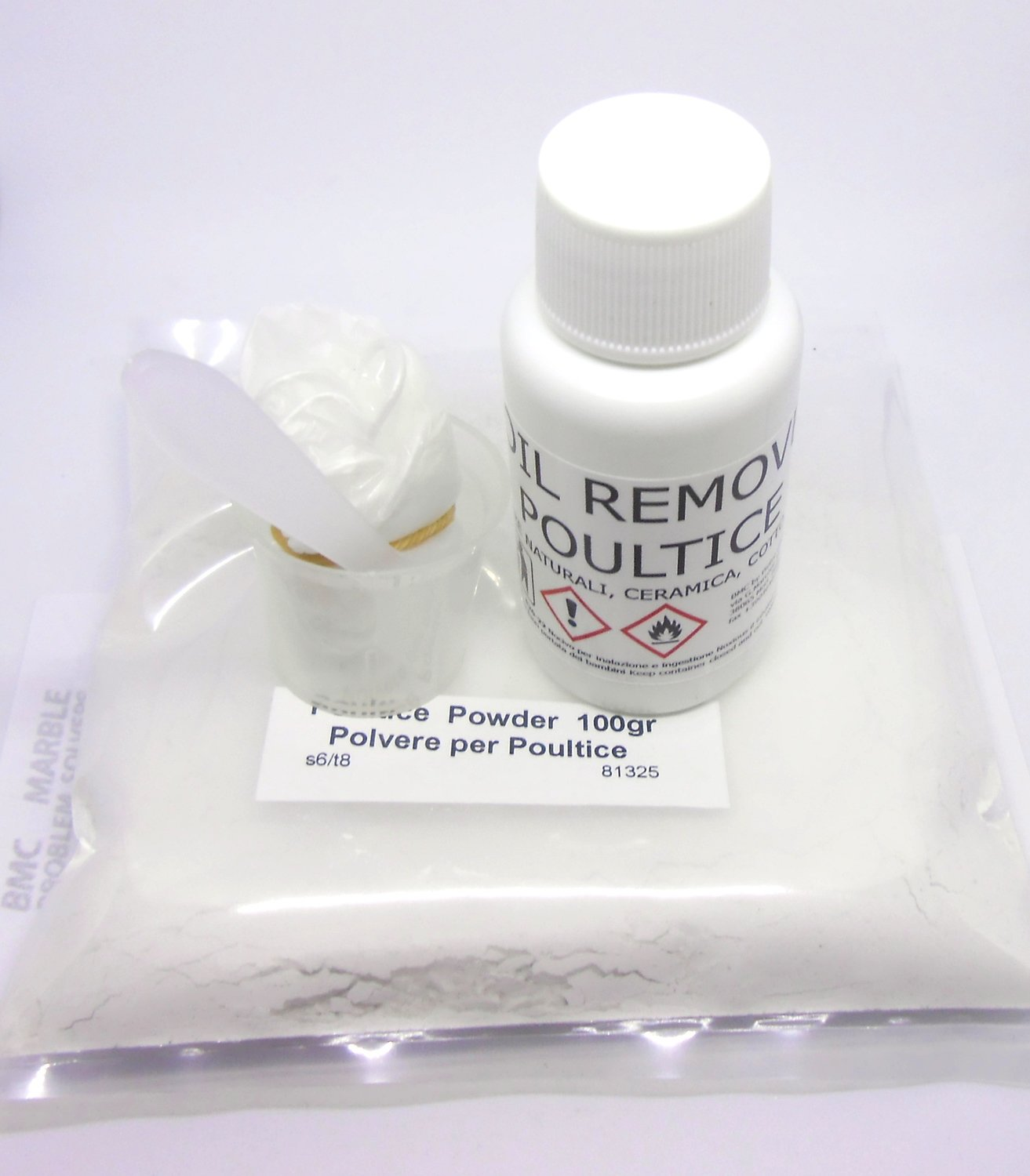 Oil Stain Remover for Natural Stones