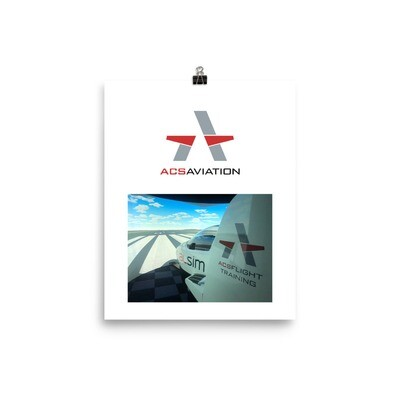 ACS Aviation AL42 Simulator Poster