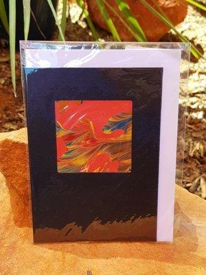 Card - Fluid Art 45