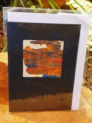 Card - Fluid Art 43
