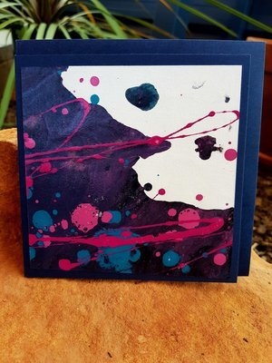 Card - Fluid Art 1