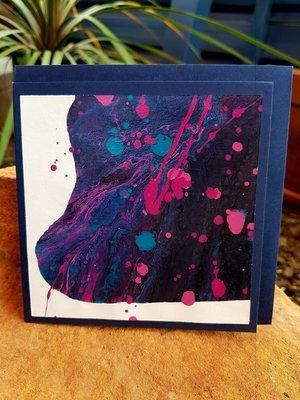 Card - Fluid Art 2