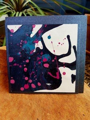 Card - Fluid Art 3