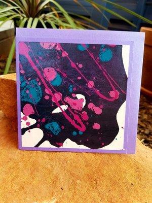 Card - Fluid Art 5