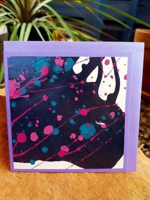 Card - Fluid Art 6