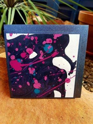 Card - Fluid Art 7