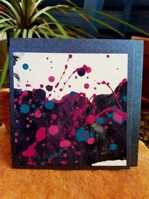Card - Fluid Art 8